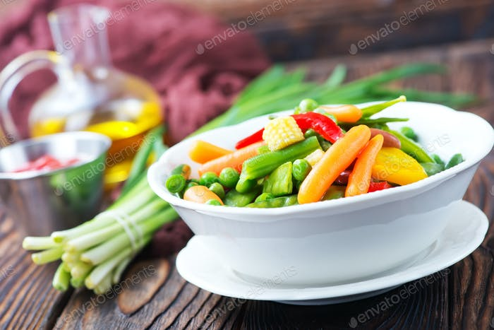 mix vegetables