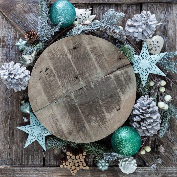 Festliche Dekorationen für Weihnachten