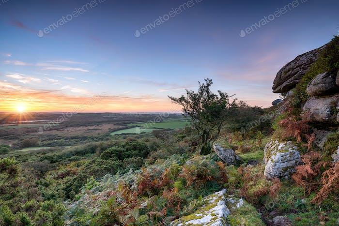 Autumn Sunrise on the Moors