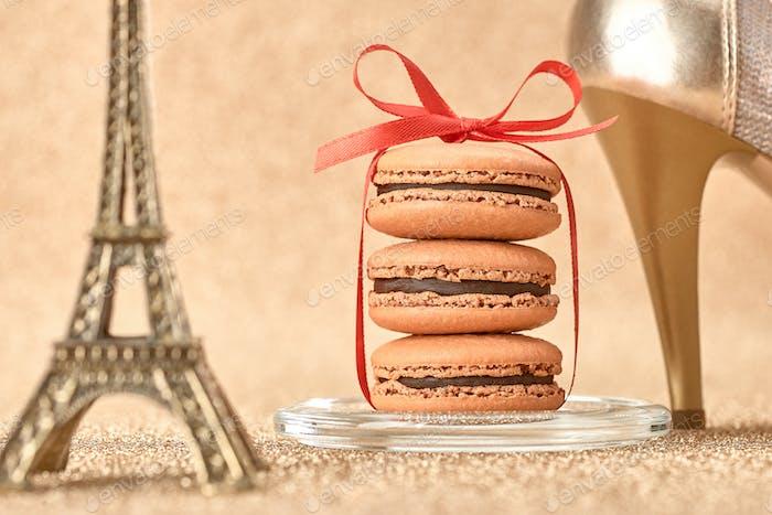 Macarons, Eiffel Tower