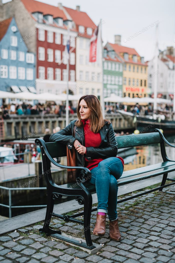 Woman in Copenhagen