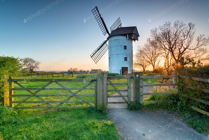 Ashton Windmill in Somerset