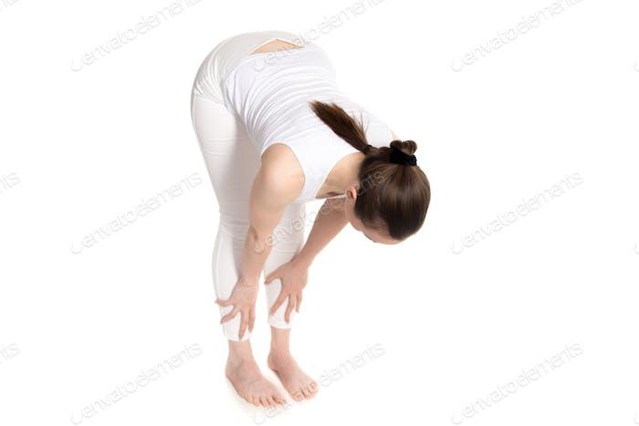 Exercise Ardha Uttanasana