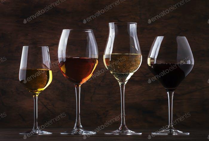 Weinverkostungskonzept, Still- und Schaumweine