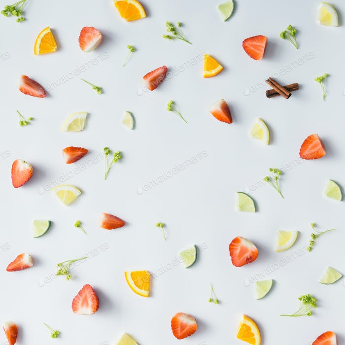 Fruit colorful pattern