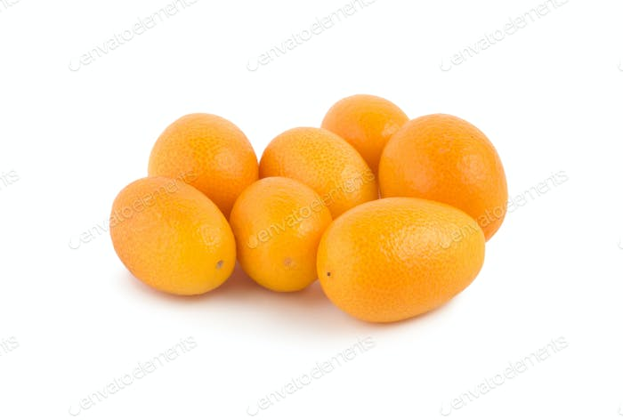 Kumquat isolated