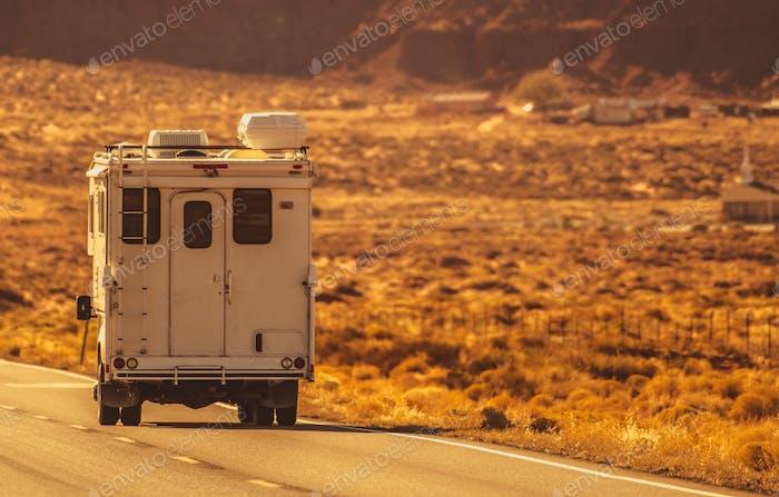 Truck Camper Road Trip