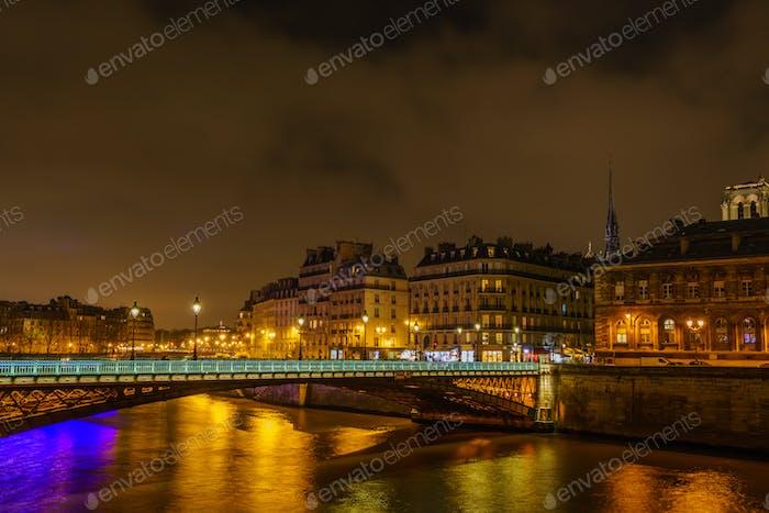 Bridge in Paris France