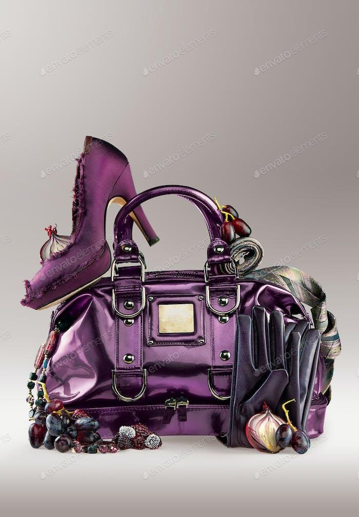 Violet elegance.
