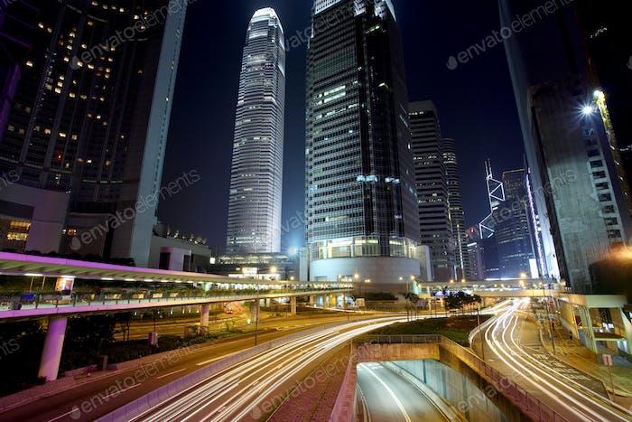 Traffic in Hong Kong