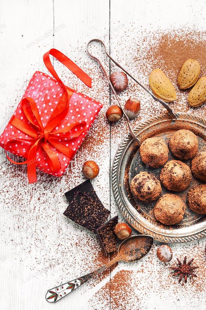 Kakao Trüffel Bonbons