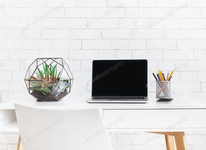 Minimalistic modern home interior. Scandinavian style concept