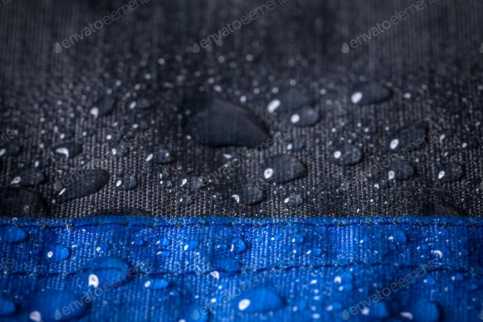 Waterproof fabric, background