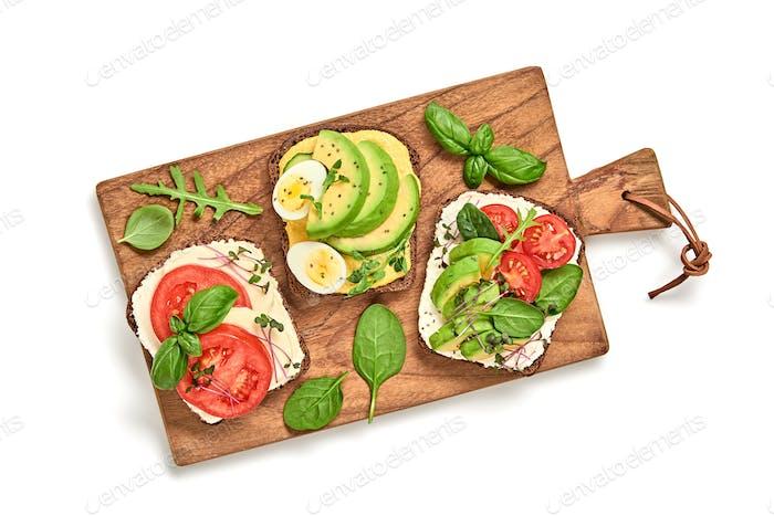 Sandwiches vegan