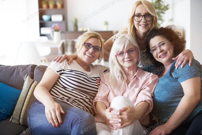 Vision problems of mature women