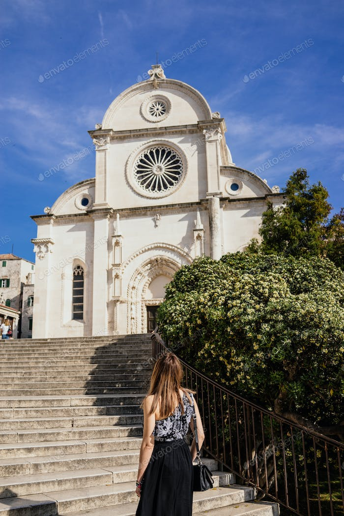 In City of Sibenik, Croatia