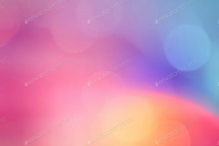 Bokeh pattern on a colorful background