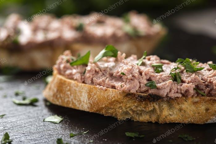 Liverwurst Sandwich