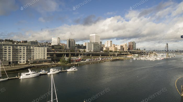 Thea Foss Waterway Supports Boat Transportation in Tacoma Washington