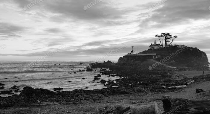 Crescent City California Pacific Coast Battery Point Leuchtturm