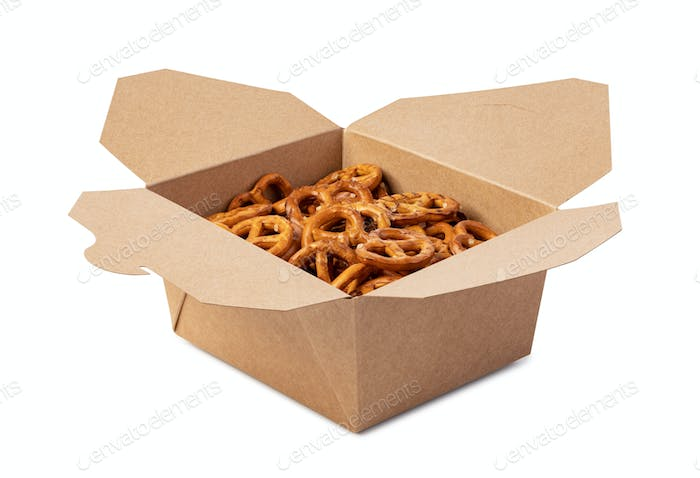 Salt Pretzels in box