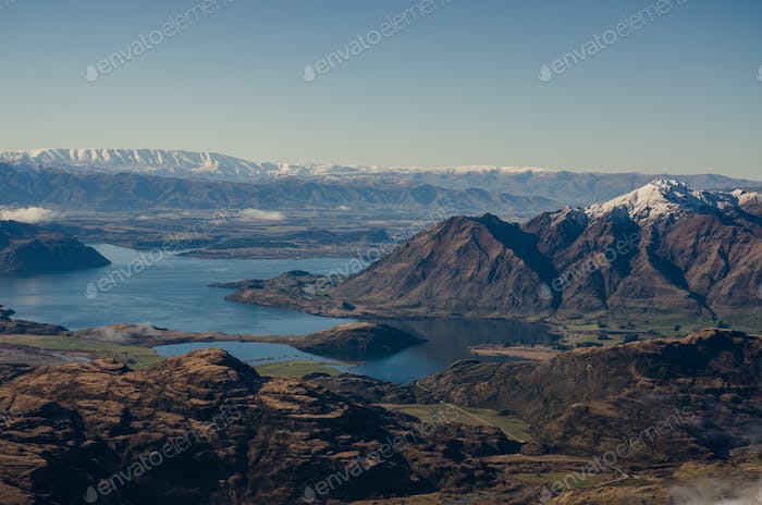 Wanaka ski resort, New Zealand