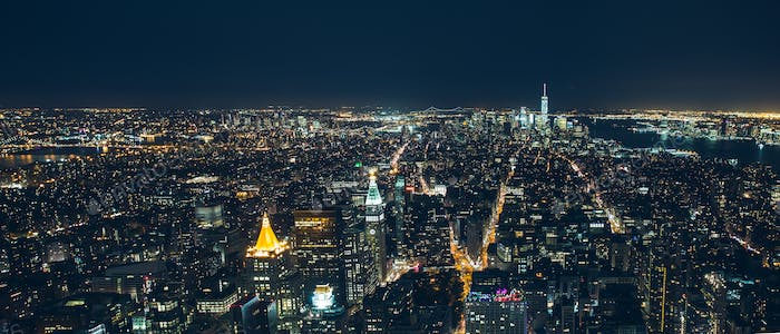 manhattan new york city night