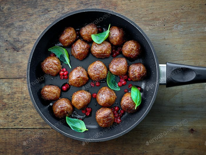 fried plant balls