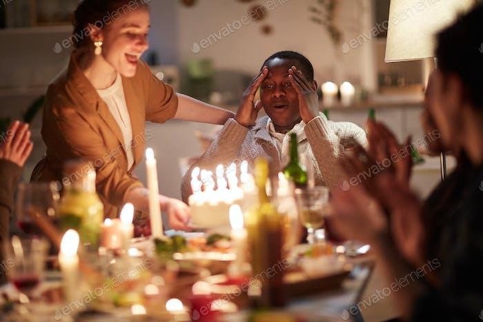 Überraschung zum Geburtstag