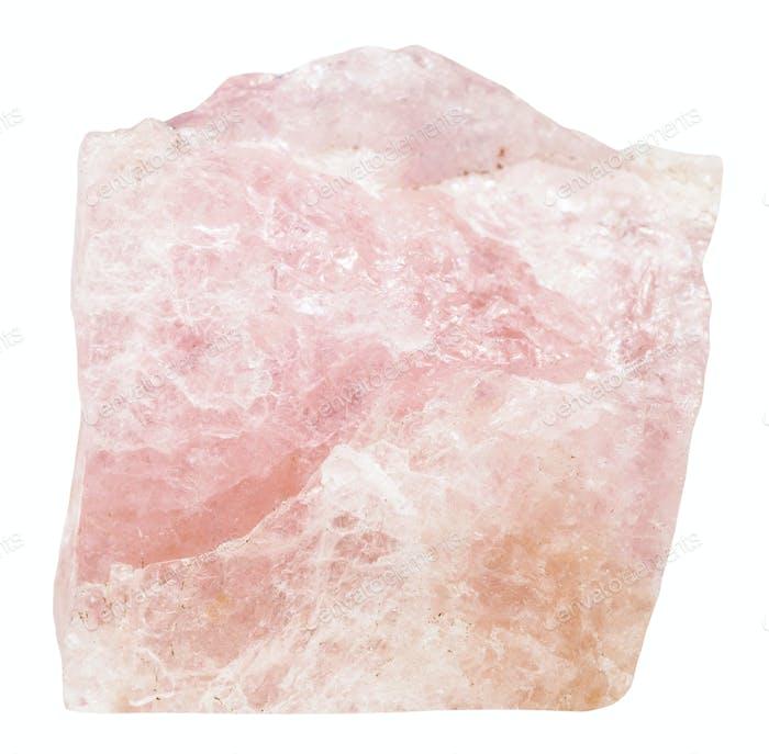 crystal of pink Beryl (Morganite, Vorobievite)