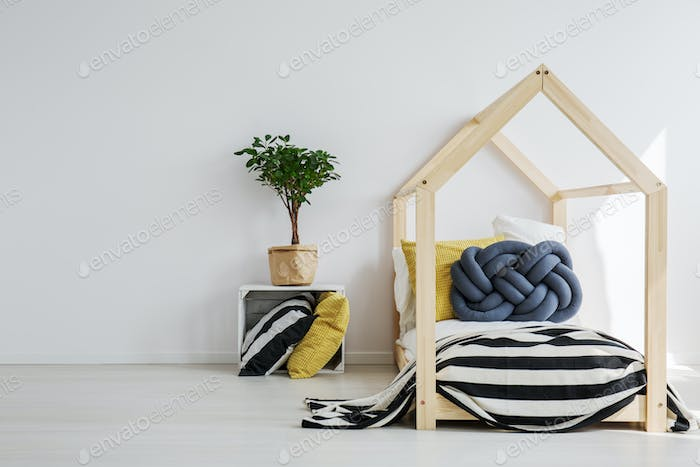 Stylish toddler's room