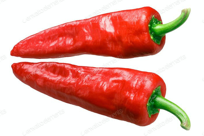 Aleppo or halaby pepper, whole pods