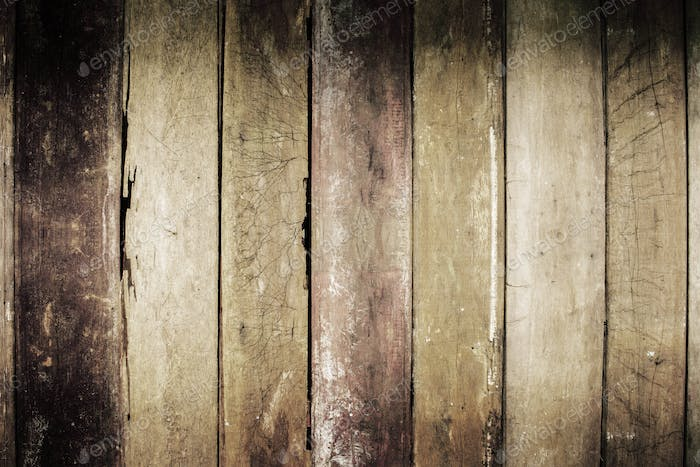 Old wooden of background