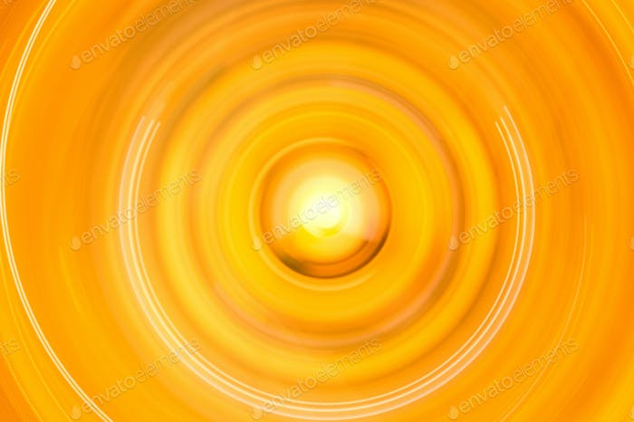 Motion blurred abstract in circle