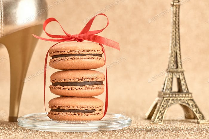 Macarons, Eiffel Tower