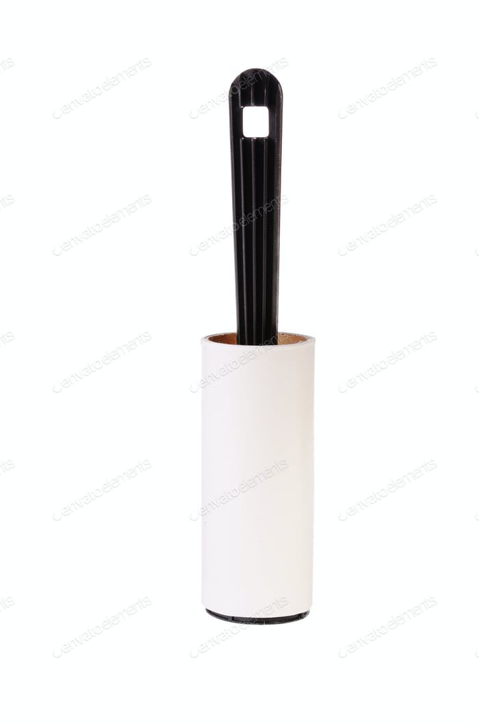 Used adhesive roller