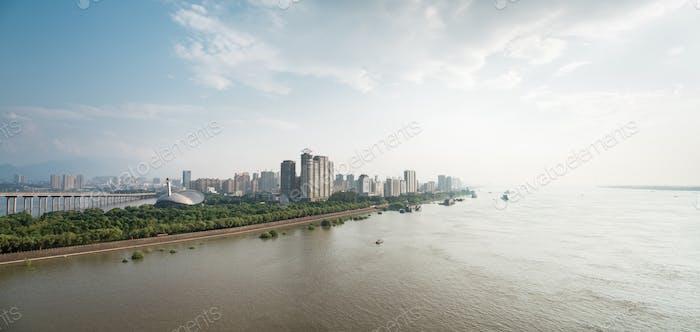 jiujiang cityscape