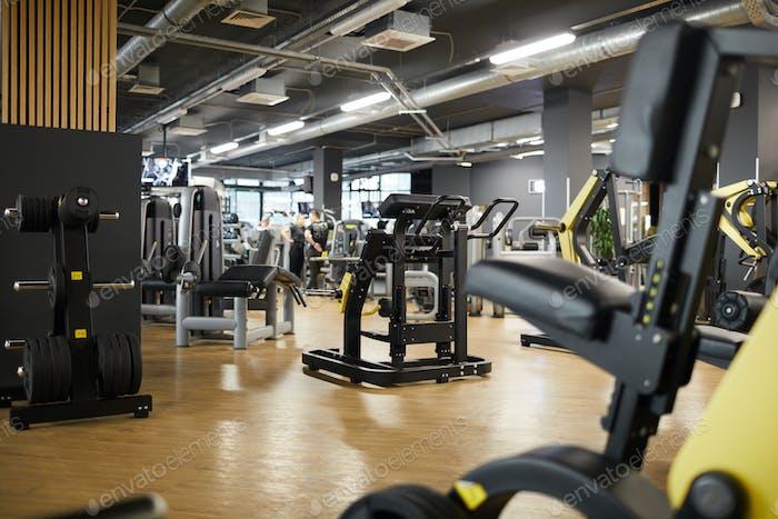 Empty Gym Interior