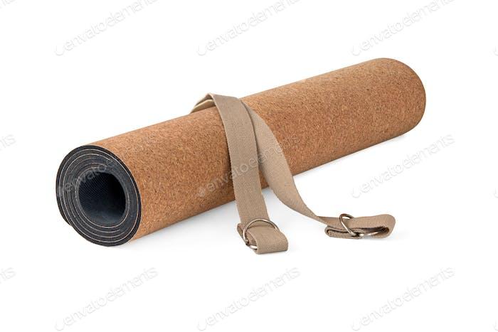 Yoga Cork Mat Eco Friendly Set