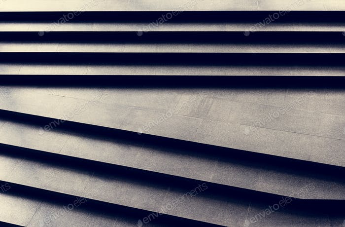 einfarbiges dunkles Granit-Treppenmuster