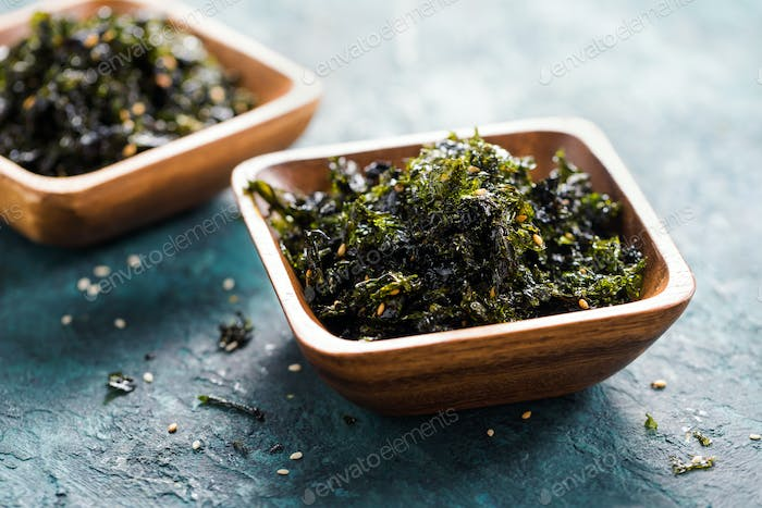 Seasoned Seaweed Snack.