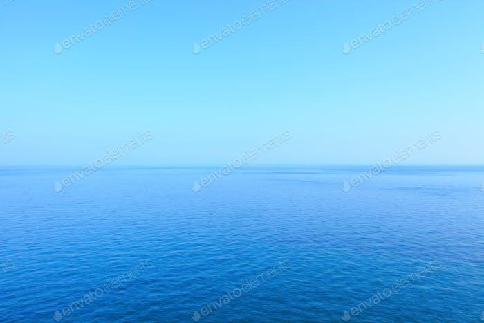 Морской пейзаж и небо