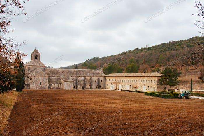 Abbaye Notre-Dame de Senanque in France