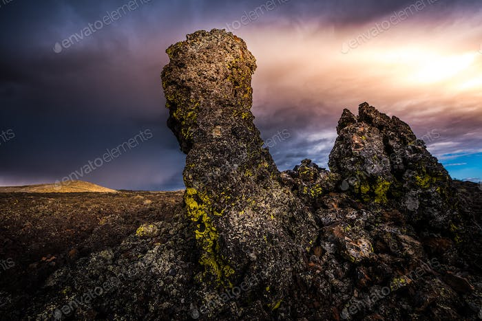 Lava Pillars Craters of The Moon