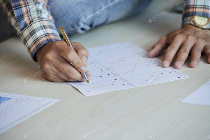 Manager checking statistics