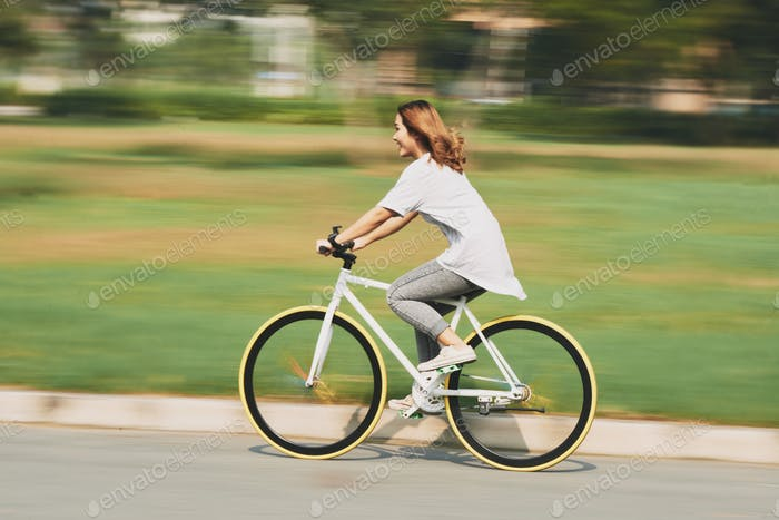 Cycling at high speed