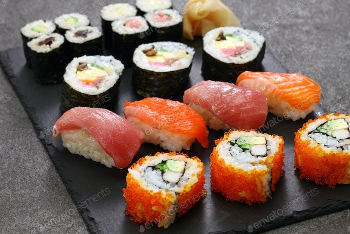 japanese sushi assorted