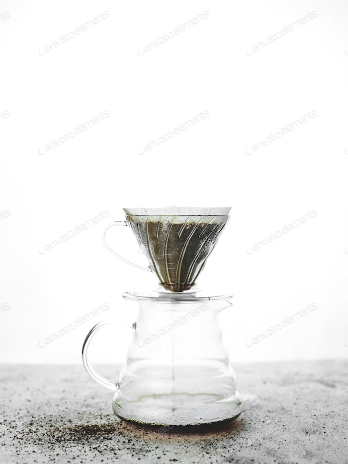 Making Filter Coffee