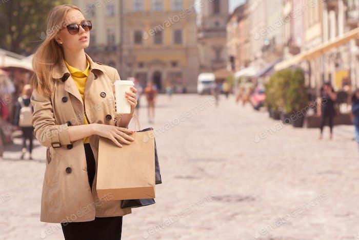Shopping-Therapie.