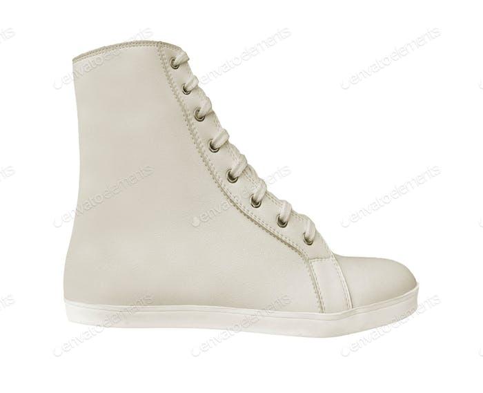 Shoe isolated on white